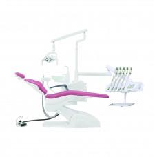 Cтоматологическая установка QL2028  с верхней подачей, 2 стула